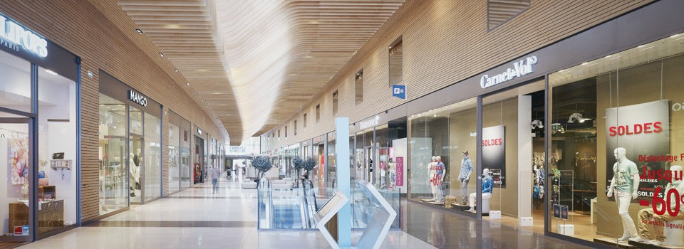 Charmant Centre Commercial Rives De L Orne #7: Valode Et Pistre Architectes